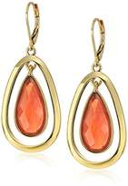 Anne Klein Gold-Tone Multi-Leverback Drop Earrings