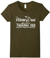 Men's I'm A Fishing Dad Just Like A Normal Dad Except Much Cooler Medium