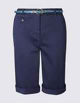 Per Una Cotton Rich Chino Shorts