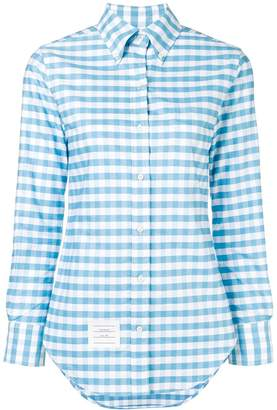 Thom Browne Gingham Check Classic Oxford Shirt