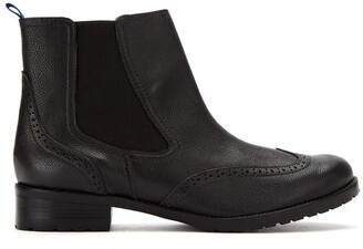 Blue Bird Shoes Leather Chelsea Boots