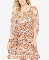 Wendy Bellissimo Maternity Printed Dress