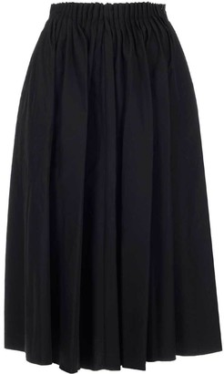 Marni Pleated Midi Skirt