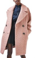 Topshop Women's Alicia Boucle Coat