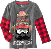 Epic Threads Rock On Graphic-Print Shirt, Little Boys (4-7), Created for Macy's