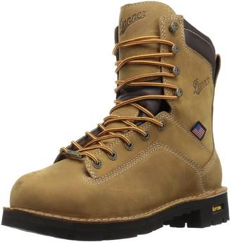 "Danner Men's Quarry USA 8""Distressed Brown AT Work Boot"