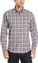 Alex Cannon Men's Long Sleeve Cabin Plaid Shirt