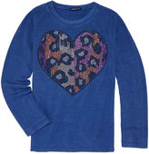 LIMITED TOO Limited Too Graphic Long Sleeve T-Shirt- Girls' 7-16