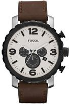 Fossil Nate Collection JR1390 Men's Analog Watch with Chronograph
