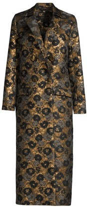 Mother of Pearl Mable Brocade Coat