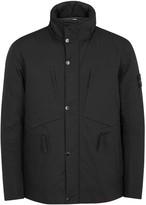 Stone Island Black Water-repellent Cotton Jacket