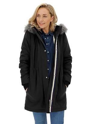 Capsule Black Luxe Faux Fur Lined Parka