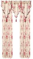 J Queen New York Imperial Garden Sheer Window Panel and Valance Collection
