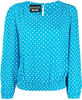 Moschino polka-dot blouse