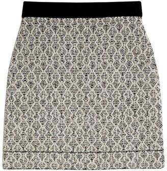 Sandro Paris Jacquard Knit Skirt