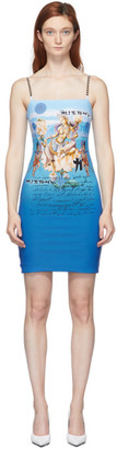 Misbhv Blue Kyoto Short Dress