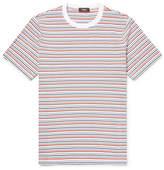 Theory Striped Cotton-Jersey T-Shirt