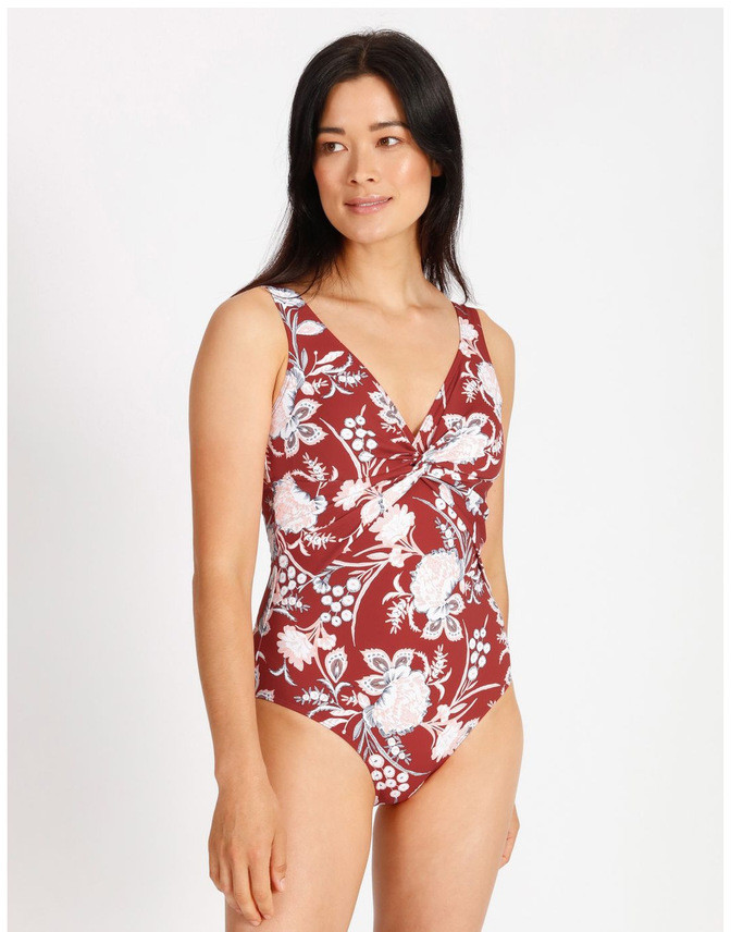 Thumbnail for your product : Regatta Olympia Knot Front Swimsuit Rose