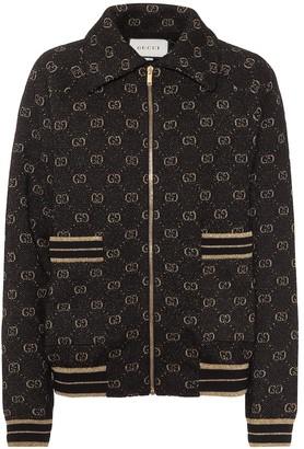 Gucci GG wool-jacquard track jacket
