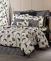"Thomasville Yvette Eclipse Queen 4 Piece Comforter Set by Thomasville, 18"" Bed Skirt"