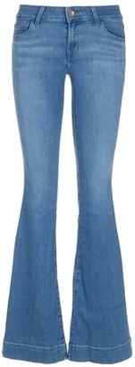 J Brand Lovestory Low Rise Flare Jeans