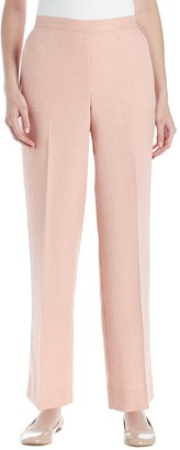 Alfred Dunner Women's Petite Proportioned Medium Solid Pant