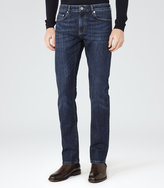 Reiss Reiss Crimson - Stretch Jeans In Blue