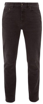 Jeanerica Jeans & Co. - Sm001 Cotton-blend Slim-leg Jeans - Black