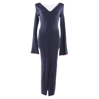 Opening Ceremony Blue Suede Dresses