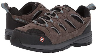 Merrell Work Windoc Steel Toe (Boulder) Women's Shoes