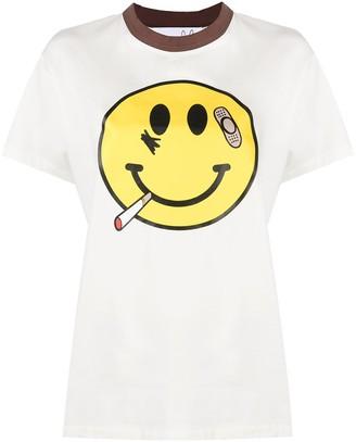 Natasha Zinko smile print T-shirt