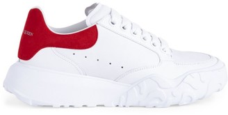 Alexander McQueen Women's New Leo Leather Platform Sneakers