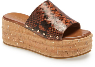 Kurt Geiger Monica Studded Platform Sandal