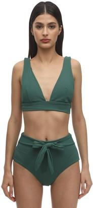 Eberjey Vivian Stretch Nylon Pique Bikini Top