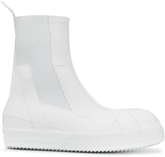 Rick Owens Slip-On Ankle Boots