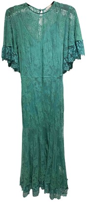 La Maison Talulah Green Cotton Dresses