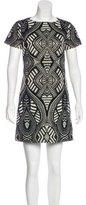 Alice + Olivia Brocade Knit Dress