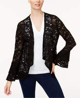 INC International Concepts Lace Draped Jacket, Only at Macy's