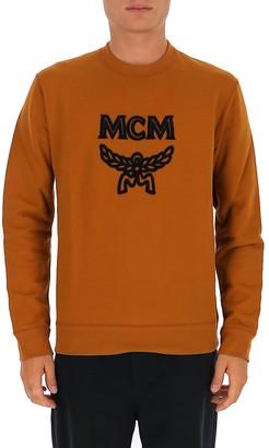 MCM Logo Crewneck Sweatshirt