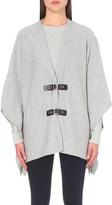 MICHAEL Michael Kors Buckled wool poncho