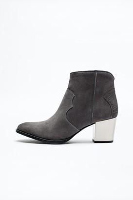 Zadig & Voltaire Molly Suede Heel Boots