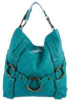 Isabella Fiore Quilted Leather Carina Hobo