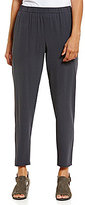 Eileen Fisher Slouchy Pull-On Ankle Pants