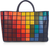 Anya Hindmarch Pixels Featherweight Ebury Maxi suede tote