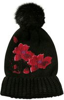 Desigual Hat Red Flowers