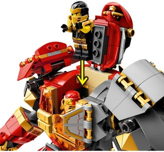 71720 Fire Stone Mech Ninja Action Figure