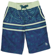 Original Penguin Youth Printed Palm Boardshort