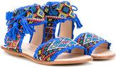 Aquazzura Mini - Clomin sandals - kids - Leather/Suede/Polyurethane/rubber - 29