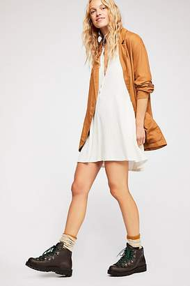 Free People Blossom Button-Up T-Shirt Dress by FP Beach at Free People, White Sands, XS