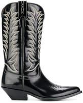 Sonora stitch detail cowboy boots